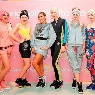 Moda dünyası Rita Ora koleksiyon lansmanında