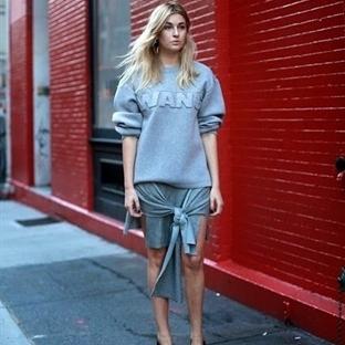 Moda: Text Sweatshirt