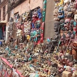 Nepal'de Alışveriş