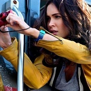 Ninja Kaplumbağalar Filminden  Megan Fox Kareleri