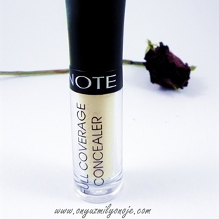 Note Kozmetik Full Coverage Concealer 02 Beige