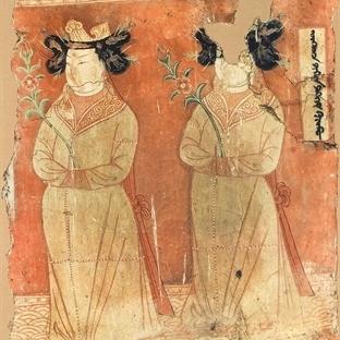 Orta Asya'da Uygur Duvar Resmi