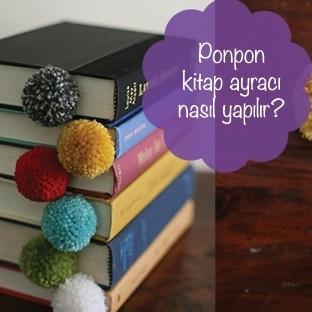 Ponpon Kitap Ayracı Nasıl Yapılır?