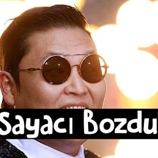 PSY Sayacı Bozdu!