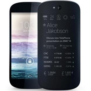 Rusya`nın Akıllı Telefonu YotaPhone Satışa Sunuldu