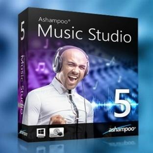 Ses Dosyası Düzenleme Aracı:Ashampoo Music Studio