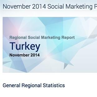 SocialBakers Kasım 2014 Sosyal Medya Raporu