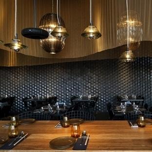 Tel Aviv'de Topolopompo Restaurant Aydınlatma
