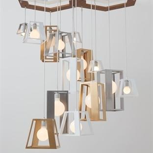 Think Fabricate'den Lantern Helix Aydınlatma