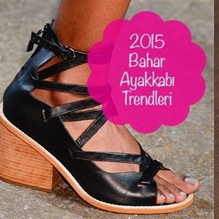 Top 8 2015 Bahar Ayakkabı Trendi