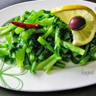 turp otu salatası nasıl yapılır