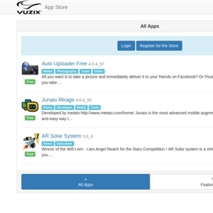 Vuzix Akıllı Gözlük Uygulama Mağazasını Yayınladı
