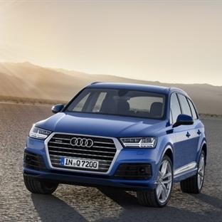 Yeni Audi Q7... Sportif, Hafif, Teknolojik.