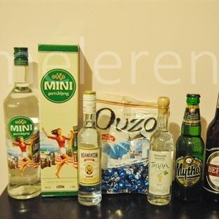 Yunan İçkileri ve Fiyatları