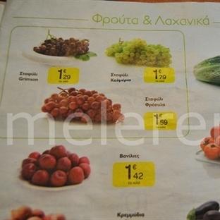 Yunanistan marketlerinde ne - ne kadar?