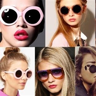 2014 İlkbahar/ Yaz Güneş Gözlüğü Modelleri