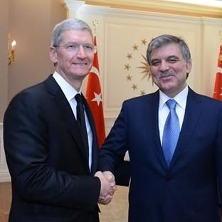Abdullah Gül ve Tim Cook Görüşmesi