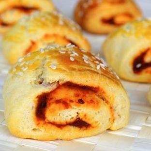 Acukalı Rulo Çörek