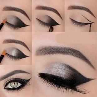 Adım Adım Göz Makyajı Uygulama