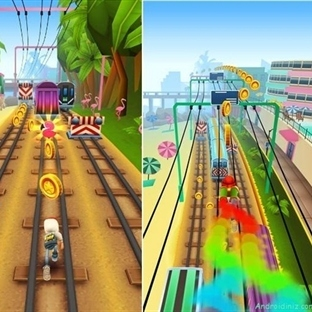 Android'in En Popüler Oyunu Subway Surfers