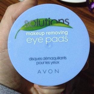 Avon Solutions - Makyaj Temizleyici Göz Pedleri