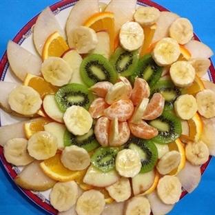 Ballı Meyve Tabağı