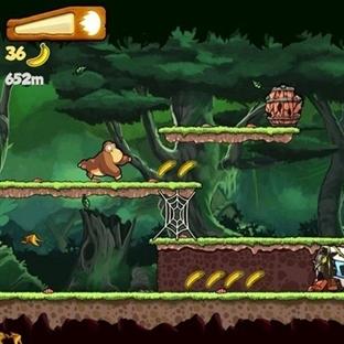 Banana Kong Android Oyunu ile Muz Toplayın