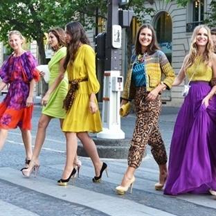 Bayan Giyim Çarpıcı Renk kombinasyonu Fikirleri