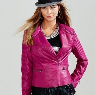 Bayan Kot Pantolon Ve Deri Ceket Modelleri
