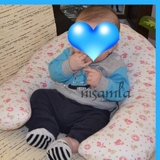 bebek destek minderi yapılışı