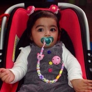 Bebekler İçin Emzik Zincirleri Tasarımı