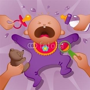 Bebeklerin Ağlama Nedenleri