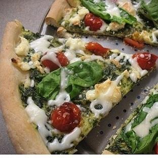 Beyaz Peynirli Ispanaklı Pizza