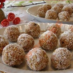Bisküvili Havuç Topları (Resimli Anlatım)