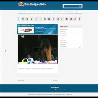 Blogger TV İzleme Teması