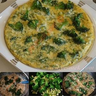 Brokolili Omlet Tarifi