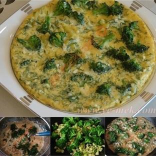 Brokolilil Omlet Tarifi