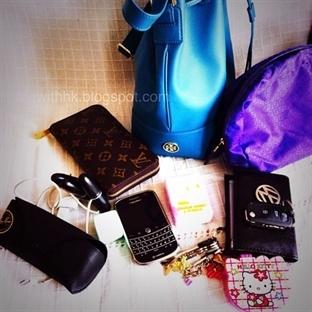 Çantamın içindekiler - Bucket Bag