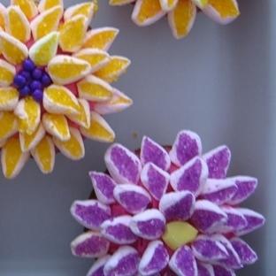 Çiçekli Kekler Tarifi