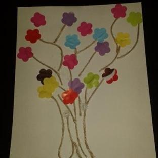 Çocuklarla Aktiviteler - 2 - Çiçek Ağacı