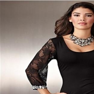 Dantelli Gece Abiye Elbise Modelleri 2014