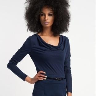 Degaje Yaka Elbise Modelleri
