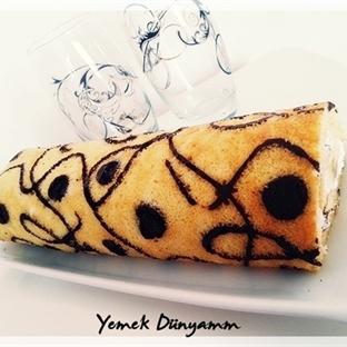 Desenli Rulo Pasta