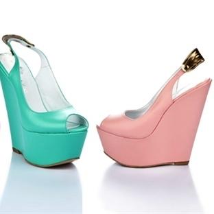 DNR Fashion Fix 2014 Dolgu Topuk Ayakkabılar