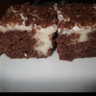 dolgulu kek(delikli kek tarif)