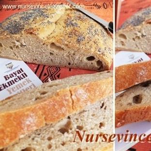 Ekşi Mayadan  Ayrılmış Hamurlu Ekmek Yapımı