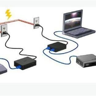 Elektrik Hattından İnternet PowerLine Networking