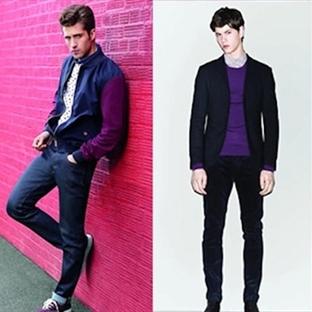 Erkek modasında 2014 yılının favori rengi: Orkide
