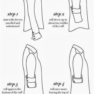 Erkekler İçin: Gömlek Kolu Nasıl Katlanır?