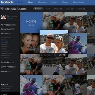Facebook Yeni Sayfa Tasarımı Geliyor